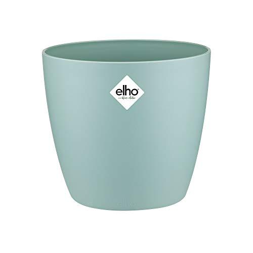 Elho Brussels Round 14 - Flowerpot - Mint - Indoor - Ø 13.6 x H 12.5 cm