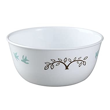 Corelle Livingware Tree Bird 28 Ounce Soup - Cereal Bowl (Set of 4)