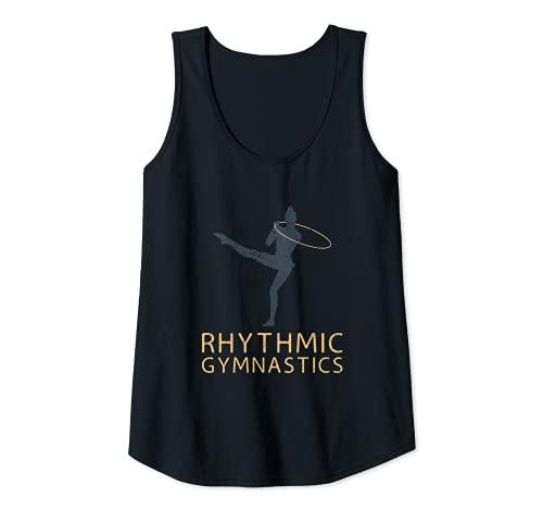 Mujer Gimnasia rítmica deportiva, gimnasia rítmica, gimnasia rtmica rtmica Camiseta sin Mangas