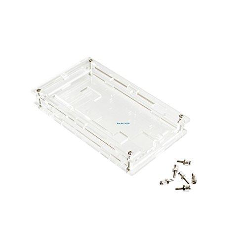 Gehäuse Transparent Gloss Acryl Box Kompatibel für Arduino Mega 2560 R3 Fall []