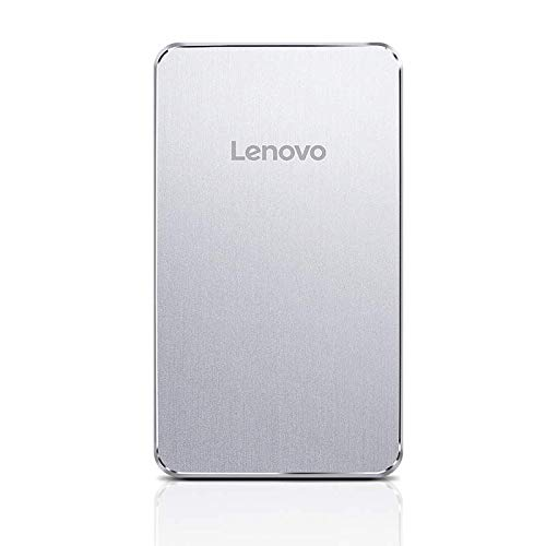 Lenovo PB420 5000mAH Lithium Polymer Power Bank (Silver)