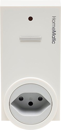 Homematic 141130A0 Funk-Schaltaktor 1-Fach, Zwischenstecker, Typ J (Schweiz)