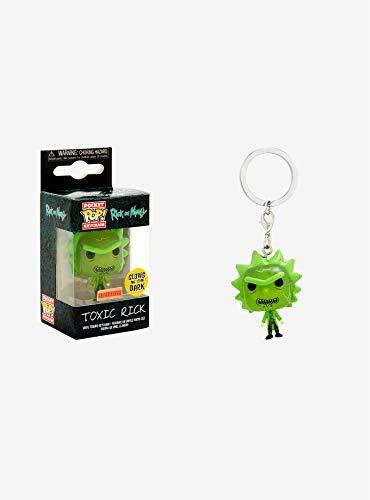 Funko–Rick And Morty Idea regalo, llavero,...
