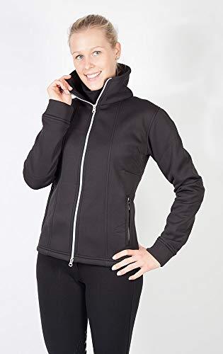 PFIFF 102502 Damen Softshell-Jacke Chesta (Größe: XS-XXL) (XL, schwarz)