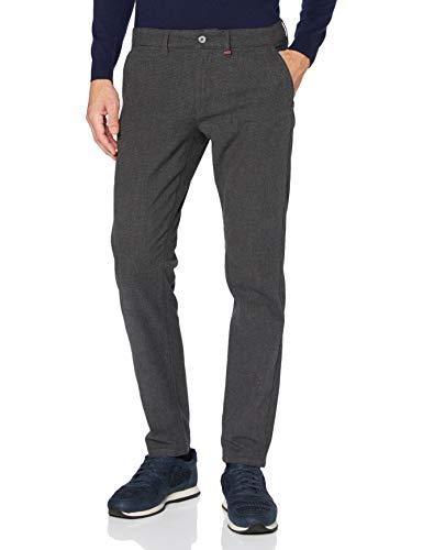 MAC Jeans Herren Lennox Hose, 074P Steel Blue Pepita, 38/34