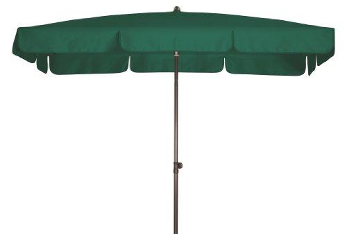 Doppler Absolut wasserdichter Gartenschirm Waterproof 225x120 UV-Schutz 80, Farbe dunkelgrün