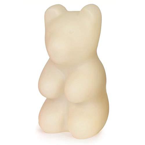 Jelly Bear–Lámpara de mesa/luz nocturna LED oso blanco H29cm–Guirnalda y objeto luminoso Egmont Toys designé par gaëtane Lannoy