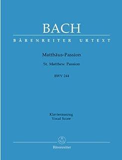 MATTHAEUS PASSION BWV 244 - gearrangeerd voor piano [Noten / Sheetmusic] Componis: BACH JOHANN SEBASTIAN