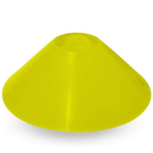 Ax Esportes FA513 Posicioner Pratinho Treinamento, Altura 23 cm, Base 14 x 14 cm, Limão