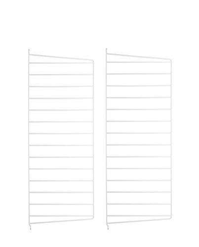String System Wandleiter 50x30cm, weiß Wandmontage 50x30cm 2er Set