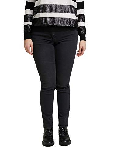 Fiorella Rubino : Jeans Skinny Neri Nero 35 Donna (Plus Size)
