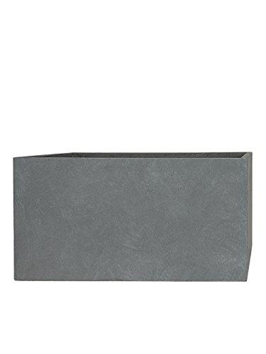 Pflanzwerk® Pflanzkübel TUB Grau 30x60x30cm *Frostbeständig* *UV-Schutz* *Qualitätsware*