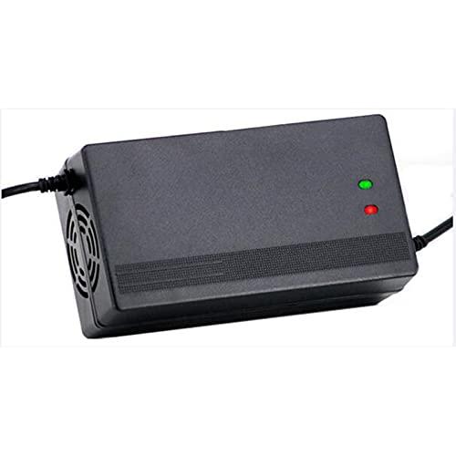 JFNV-Cargador De Scooter Eléctrico 72V4A,Cargador De Batería De Litio,Control De Temperatura, Protección contra Cortocircuitos,Carga Rápida Inteligente De Seguridad,D