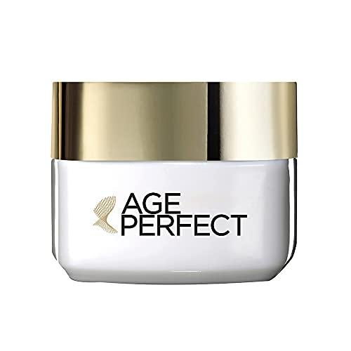 L'Oreal Paris - Age Perfect, crema hidratante de ojos, pieles maduras, 15ml