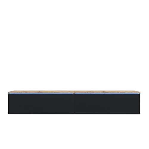 Selsey TV-Lowboard, mit LED