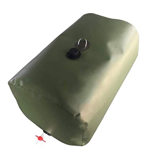 Bolsa de almacenamiento de agua del bolso del envase de almacenaje plegable al aire libre del tanque de agua con el grifo 300L de gran...