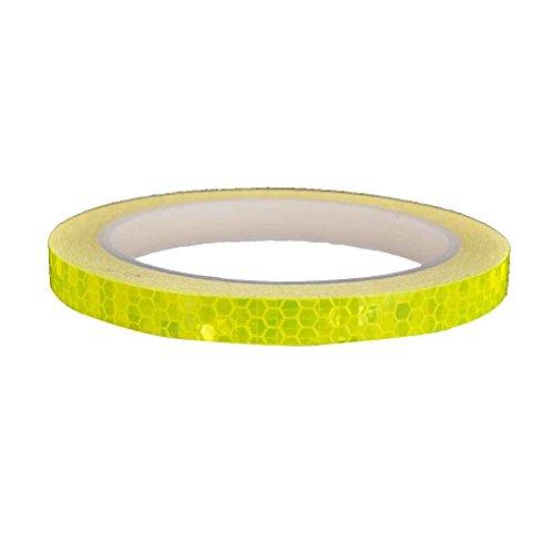 Aiming Fahrrad-Reflective Klebeband Fahrrad Reflexfolie Sticker Radfahren Felgen Licht sichere Aufkleber