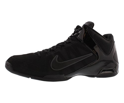 Nike The Mens Air Visi Pro IV NBK Basketball Shoe Black/Black Size 9