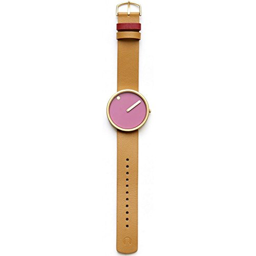 Rosendahl unisex analoog kwarts horloge met lederen armband 43378
