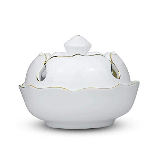 LHBNH Quemador de Incienso de cerámica para decoración del hogar (10,3 x 7,5 x 8,5 cm)