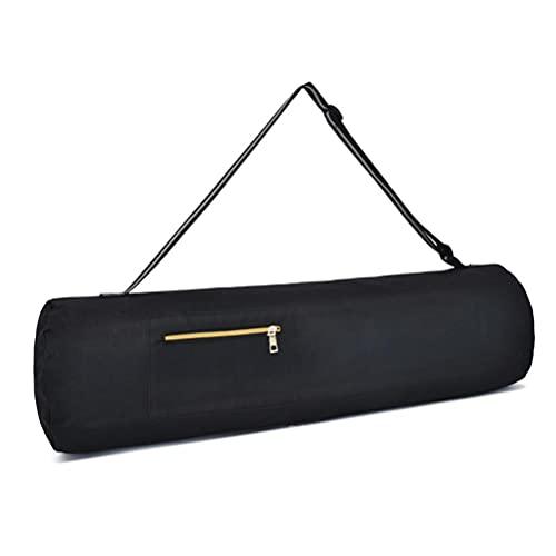 YDLYA Yoga Pilates Mat Bag Gym Mochila Bolsa de Almacenamiento Durable Ajustable de la Estera de la Yoga