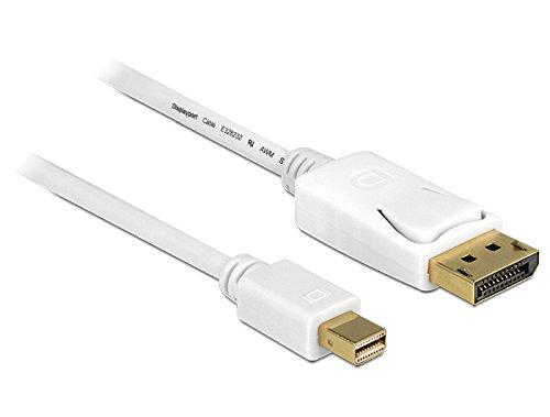 DeLock Kabel Mini DisplayPort St > DisplayPort St 3,0m Weiss