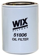Price comparison product image WIX Filters - 51806 Heavy Duty Spin-On Lube Filter,  Pack of 1