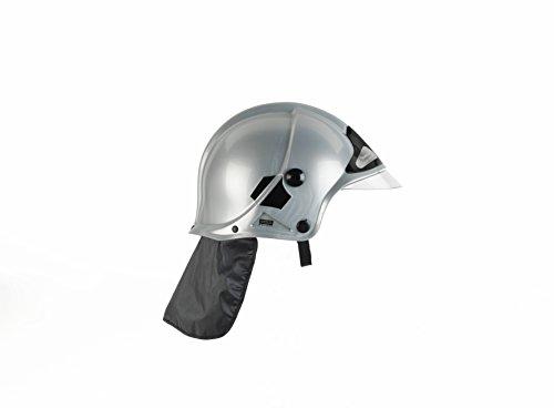 Klein - 8902 - Jeu d'imitation - Casque de pompier F1 gris avec visière escamotable et protège-nuque