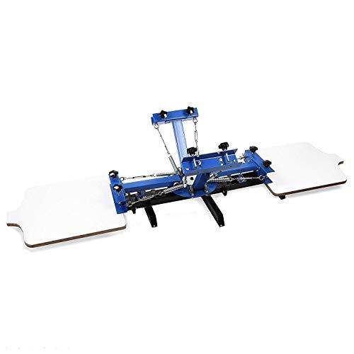 MG-ROCKY Screen Printing Machine - Máquina de serigrafía de 4 colores y...