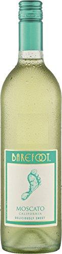 6x 0,75l - Barefoot - Moscato - Kalifornien - Weißwein süß