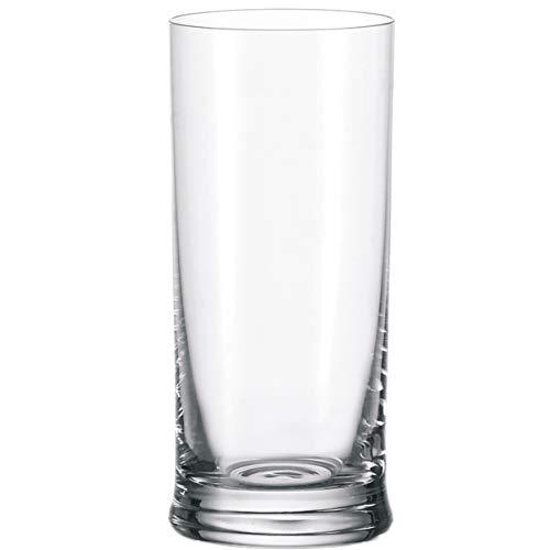 Leonardo K18 Bier-Gläser, spülmaschinengeeignetes Bier-Glas, Bier-Becher aus Glas, Trink-Gläser, Wasser-Gläser Set, Saft-Gläser, 360 ml, 035393