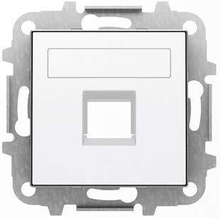 Niessen sky - Tapa 1 conector con persiana blanco