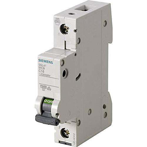 Siemens 5sl4–Leitungsschutzschalter 10kA curva-b 1polig 16A 70mm