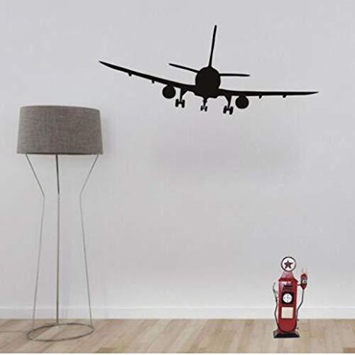N\A Niños Niños Avión Pegatinas de Pared Decoración del hogar Sala de Estar Pegatinas de Pared Papel Tapiz de Vinilo Mural