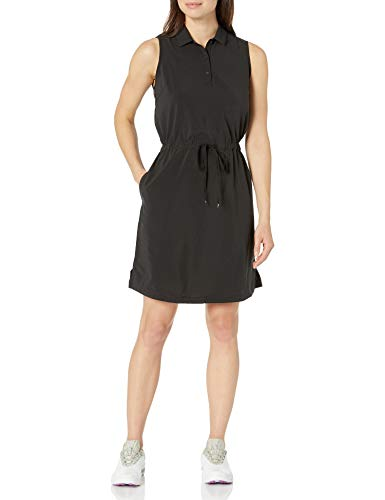 PUMA Golf 2020 Women's Sleeveless Dress, Puma Golf Black, Medium