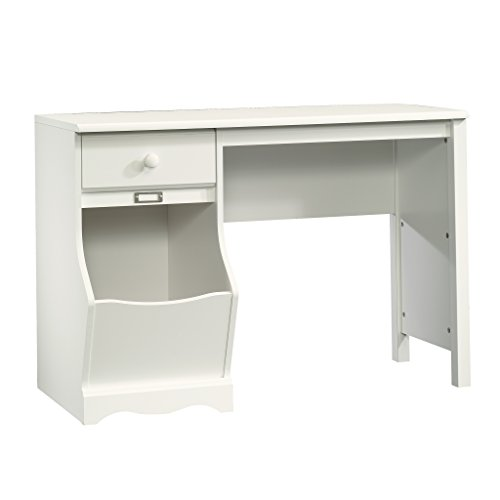 Sauder Pogo Desk for Children, Soft White Finish