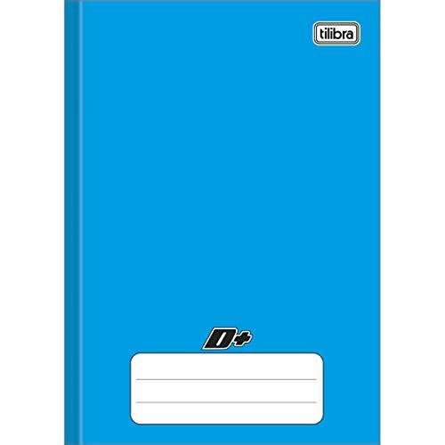 Caderno Brochura Capa Dura Universitário, Tilibra, D+, 96 Folhas, Azul
