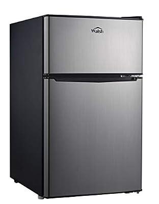 WALSH WSR31TS1 3.1 cu ft 2-door fridge Stainless Steel Look