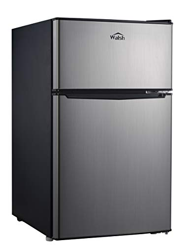 WALSH WSR31TS1 3.1 cu ft 2-door fridge Stainless Steel Look