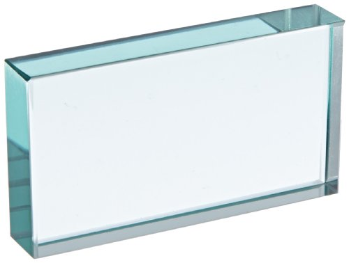 Ajax científica li272 – 0110 rectangular cristal bloque, 110 mm de longitud x 61 mm x 19 mm de grosor