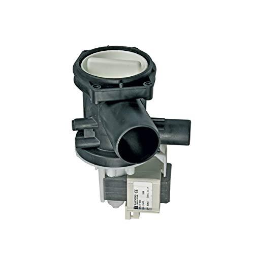 Europart 10002289 Ablaufpumpe Magnettechnikpumpe Wasserpumpe Magnetpumpe Laugenpumpe Pumpe 30 Watt Hanning Waschmaschine passend wie Bosch Siemens 144488 00144488 auch Neff Constructa DeDietrich
