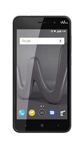 Wiko Lenny 4 12,7 cm (5 Zoll) Smartphone (8MP Kamera, 16 GB internen Speicher, 1GB RAM, Dual-SIM, Android Nougat) schwarz