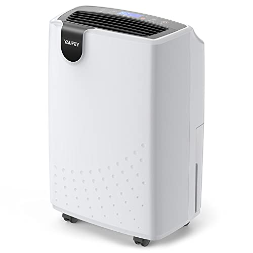Yaufey Dehumidifiers for Home, 1750 Sq.Ft Dehumidifier with Drain Hose, Auto Shut Off, Portable Dehumidifier for Basements and Medium to Large Rooms