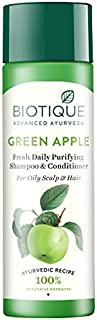 Biotique Bio Green Apple Fresh Daily Purifying Shampoo And Conditioner, 190ml