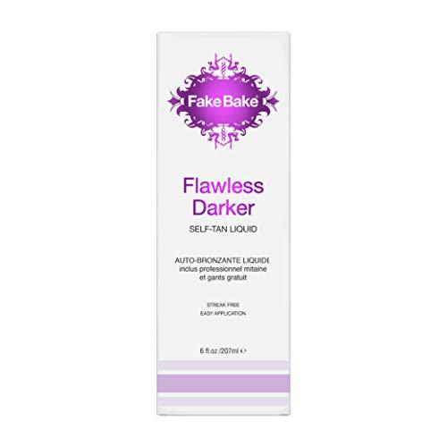 Fake Bake Flawless Darker Self-Tanning Liquid Spray 6 oz (Pack of 2)