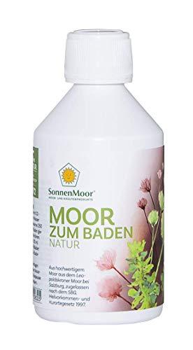 SonnenMoor - Moor Bad für die Badewanne - 250 ml -Moorbad Natur in 18 Liter, 1000ml und 250ml erhältlich
