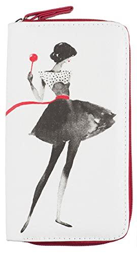 La Chaise Longue Parlez-moi d'amour Funda de talonarios, 13 cm, (Blanc/Noir/Rouge)