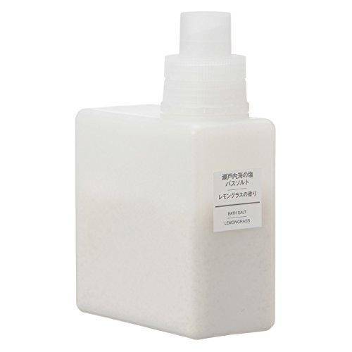 無印良品 瀬戸内海の塩バスソルト・レモングラスの香り 日本製