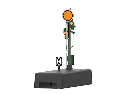 Märklin 70381 - Vorsignal mit stellbarem Zusatzflügel und stellbarer Scheibe, Spur H0