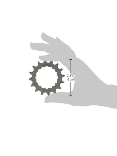 Connex E-Bike Ritzel für Bosch Antrieb 16 Zähne Kettenblätter, Silber, One Size - 2